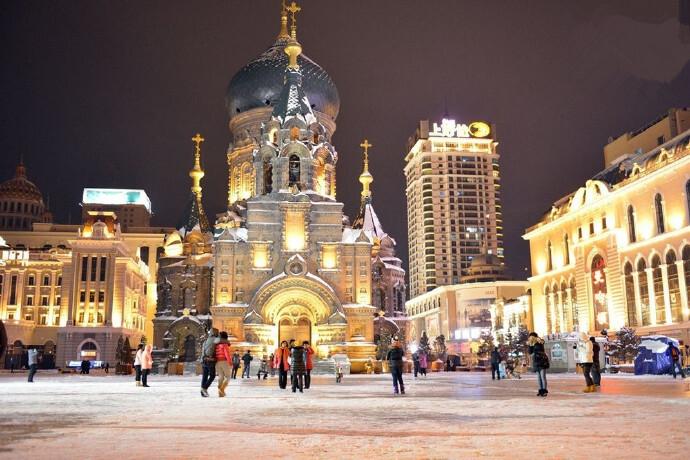 哈尔滨的一座梦幻古堡――索菲亚教堂