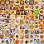 1000张食堂饭菜照片记录大学时光