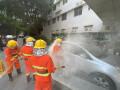 长沙市中心医院开展防暴应急处置演习