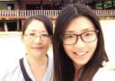 大四女生带母游东南亚