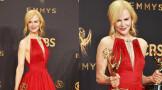 妮可基德曼凭借《大小谎言》获得69届艾美奖限定剧最佳女主角