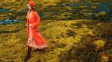 英伦时尚大片:莫纳山谷,古堡美裙与浪漫风光