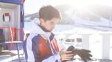 冬日邂逅刘昊然 变身滑雪少年