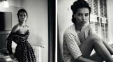 阿德瑞娜・利玛 (Adriana Lima)七月大刊演绎黑白风情