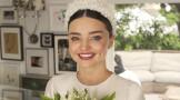 米兰达·可儿婚礼图集 婚纱来自Dior定制