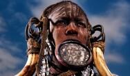 非洲即将消失的唇盘族