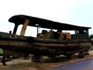 江苏发现侵华日军炮艇 或参与南京大屠杀