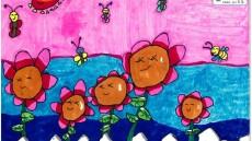"""""""我身边的植物朋友们""""少儿创意绘画赛总决选举行"""