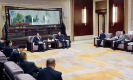 西藏自治区山南市党政代表团来湘考察 杜家毫许达哲会见代表团一行