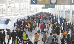 明日湖南开往华东、广东等方向将加开102对列车
