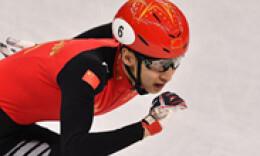 首金!中国选手武大靖夺得500米短道速滑冠军