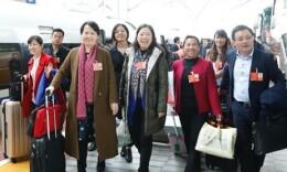 部分在湘全国人大代表返湘