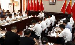 杜家毫参加韶山村党委组织生活会并为基层党员讲党课