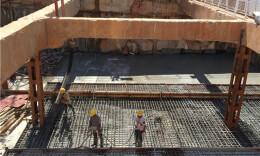 长沙地铁4号线车站全部封顶