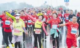 2018长沙国际马拉松赛周日开跑 资深跑友提前试跑!