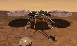 """""""洞察""""号火星探测器在火星着陆,来看看它的小档案"""