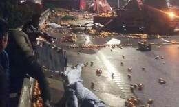 二广高速益阳清塘段间断发生4起车祸,致5死18伤