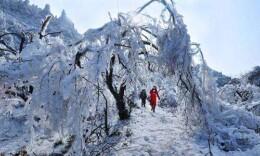 湖南多地气温创新低 今明天张家界等地仍有雨夹雪