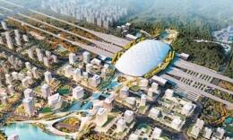 重磅!长沙高铁西城建设启动,站场规模12台22线