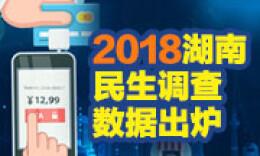 """直播回顾丨晒出民生""""成绩单"""" 2018湖南民生调查数据出炉"""