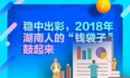 """一图读懂丨稳中出彩,2018年湖南人的""""钱袋子""""鼓起来"""