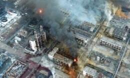 鹽城化工廠爆炸現場:主要火點已撲滅