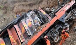 河南中鋁貨運火車傾覆 6名失聯者全部找到均已遇難
