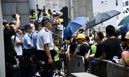 香港警方严厉谴责暴力示威活动 拘29人最小17岁