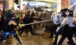香港特区政府发表声明 严厉谴责激进示威者升级暴力行为