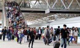 國慶假期前4日,全國累計運送旅客3.45億人次