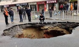 长沙桂花路路面塌陷后续:系污水管道老化造成拱顶坍塌