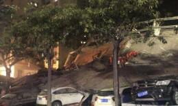 最新:福建泉州鲤城区一宾馆倒塌 约70人被困 已救出48人
