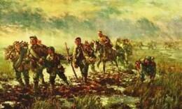 长征中的李贞:绑在马背上行军