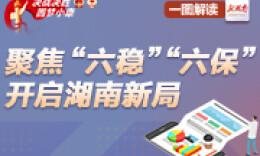 """一图解读丨聚焦""""六稳""""""""六保"""" 开启湖南新局"""