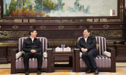 《中国共产党政法工作条例》贯彻落实情况督查组来湘督查 杜家毫与姜伟座谈