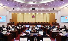 省十三屆人大常委會舉行第二十三次會議 許達哲主持