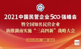 快讯|7家湘企上榜2021中国民营企业500强榜单