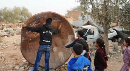 探访解放后的叙利亚拉卡省村庄