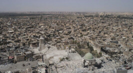 战争后这座城几乎全损毁 重建需要6千多亿