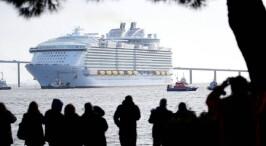 """除了大还有啥?探访世界最大豪华邮轮""""海洋交响乐号"""""""