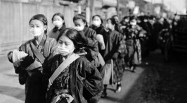 老照片:上个世纪令人闻之变色的西班牙流感