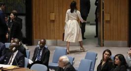 直击安理会现场:美国大使被多国围攻 提前离场