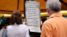 委内瑞拉通货膨胀严重物价飞涨 生活必需品百万起步
