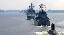 俄羅斯慶祝海軍節