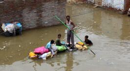 巴基斯坦洪災