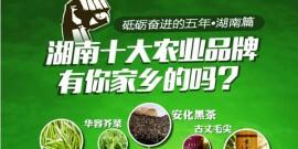湖南十大农业品牌巡礼,有你家乡的吗?