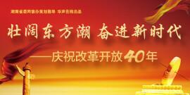 壮阔东方潮 奋进新时代-庆祝改革开放40年