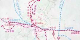 长沙将在河西新建火车站