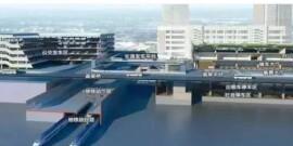 高铁长沙西站将建在望城金山桥