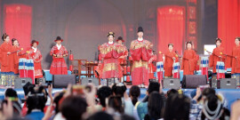 第二届新国潮汉服文化节开幕